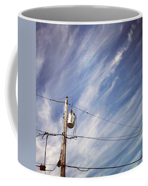 Sky Coffee Mug featuring the photograph Beautiful Sky This Morning by Katie Cupcakes