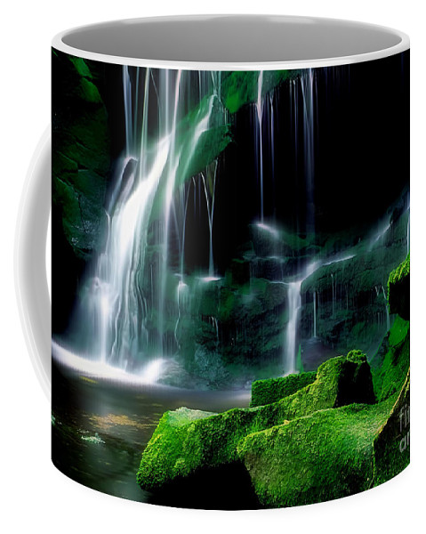 Abstract Coffee Mug featuring the photograph Beauty Of West Virginia by Darren Fisher