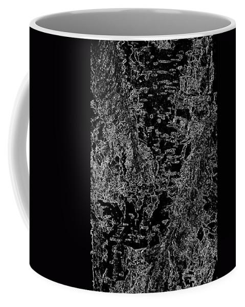 Beech Coffee Mug featuring the digital art Beech Tree Digital Art by David Pyatt