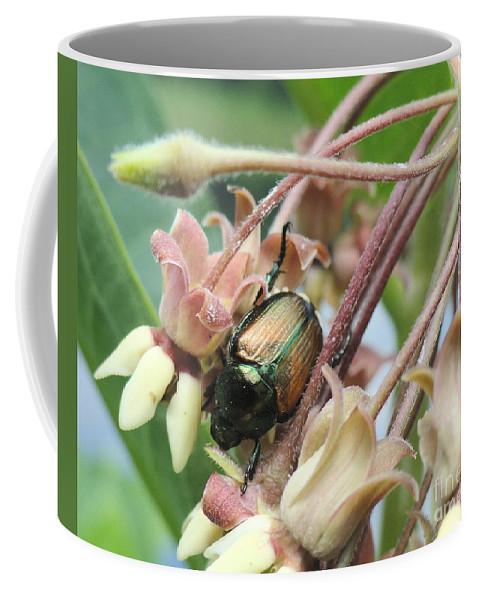 Holmesbrook Photographs Coffee Mug featuring the photograph Beetle Juice by Trish Hale