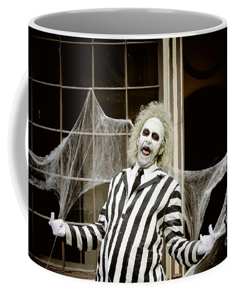 Fantasy Coffee Mug featuring the photograph Beetlejuice by Nina Prommer