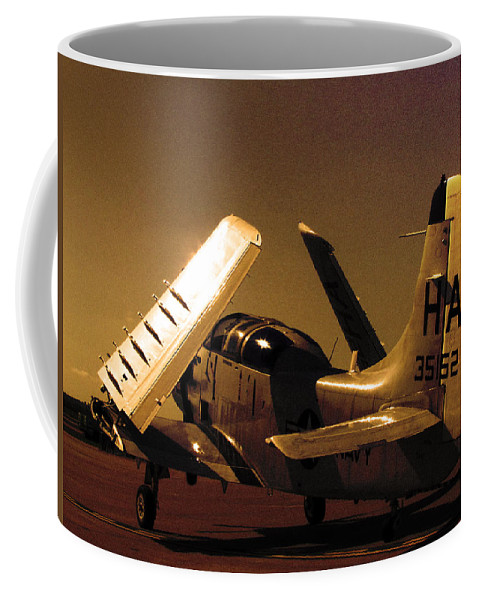 Plane Coffee Mug featuring the photograph Before The Flight by Elizabeth Harshman