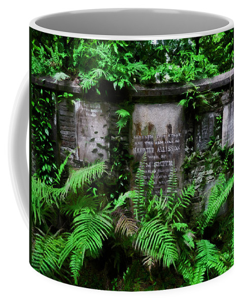 Beneath This Stone Coffee Mug featuring the photograph Beneath This Stone by Steve Taylor