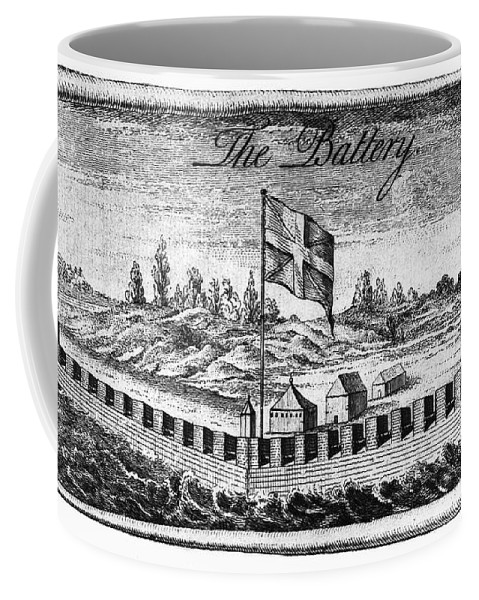 18th Century Coffee Mug featuring the photograph Benjamin Franklin: Battery by Granger