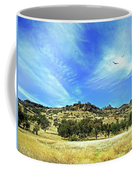 Canyon Coffee Mug featuring the photograph Bidwell Park by Frank Wilson