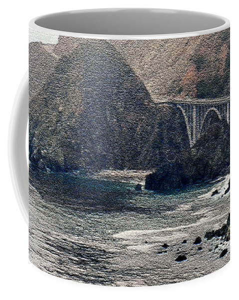Big Sur Coffee Mug featuring the photograph Big Sur by Lydia Holly