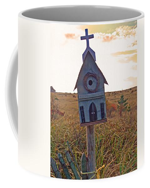 Bird House Coffee Mug featuring the photograph Bird Sanctuary by Pamela Patch