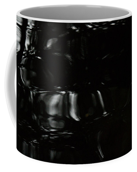 Black Coffee Mug featuring the photograph Black Water by Marie Jamieson