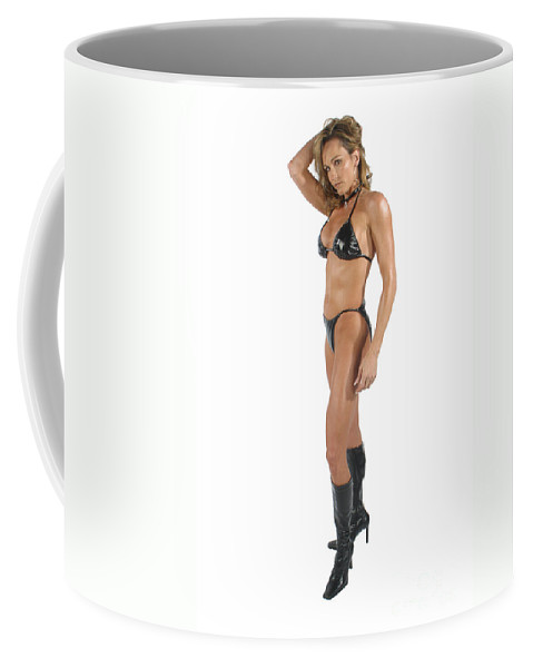 Model Coffee Mug featuring the photograph Black56-2 by Gary Gingrich Galleries