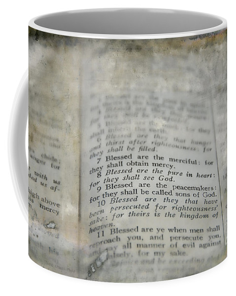 Beatitudes Coffee Mug featuring the photograph Blessed by David Arment