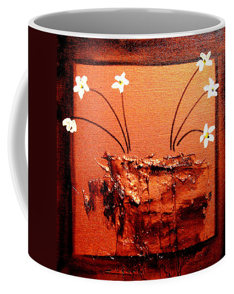 Surreal Painting Prints Coffee Mug featuring the painting Bliss 3 by Henry Parsinia
