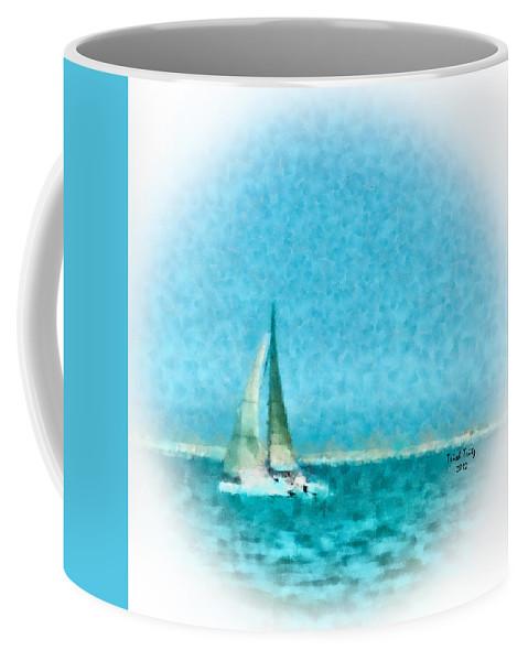Sea Coffee Mug featuring the photograph Blue Bayou by Trish Tritz