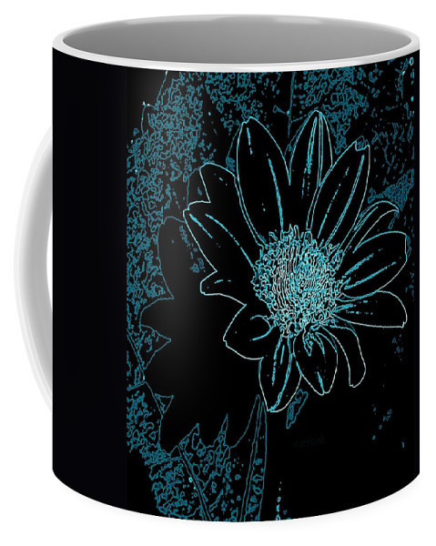 Nature Coffee Mug featuring the photograph Blue Wildflower  by Chris Berry