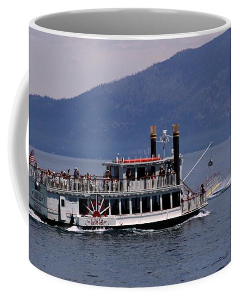 Usa Coffee Mug featuring the photograph Boat Race by LeeAnn McLaneGoetz McLaneGoetzStudioLLCcom