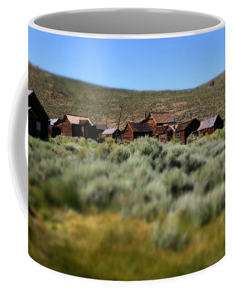Bodie Ghost Town Landscape Coffee Mug featuring the photograph Bodie Ghost Town Landscape by Chris Brannen