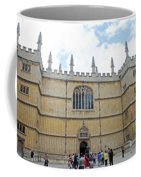 Oxford Coffee Mug featuring the photograph Bodleian Library by Tony Murtagh