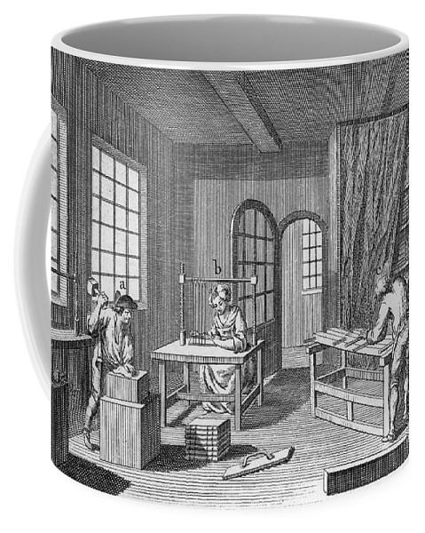 1763 Coffee Mug featuring the photograph Bookbinder, 1763 by Granger