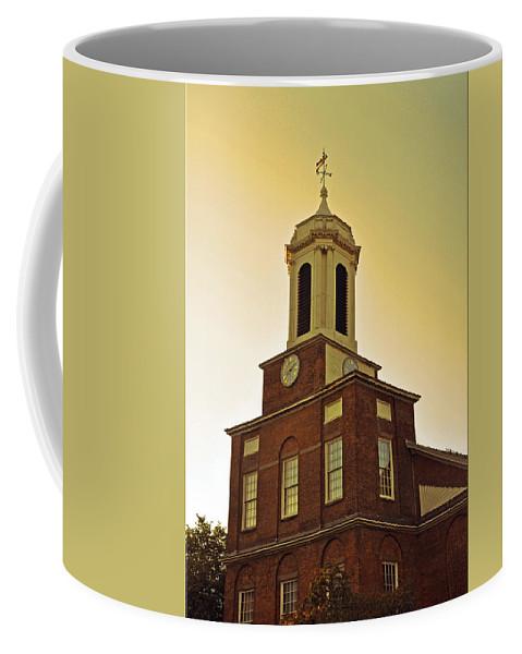 Boston Coffee Mug featuring the photograph Boston Church by Brittany Horton