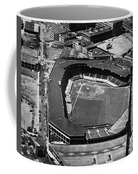 1946 Coffee Mug featuring the photograph Boston: Fenway Park by Granger