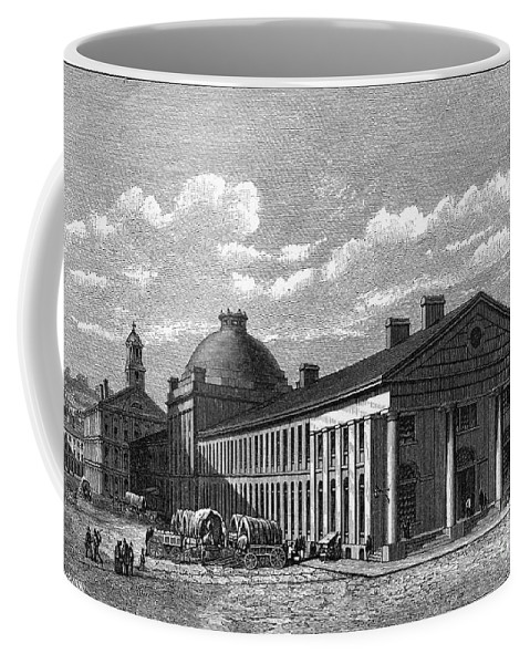 1826 Coffee Mug featuring the photograph Boston: Quincy Market by Granger
