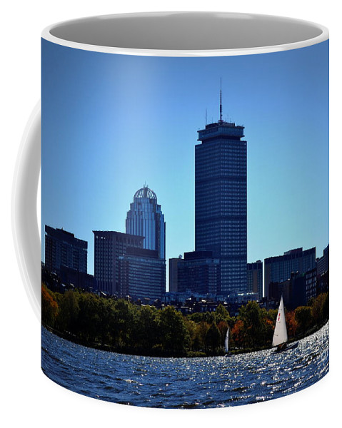 Boston Coffee Mug featuring the photograph Boston Skyline 2 by Kevin Fortier