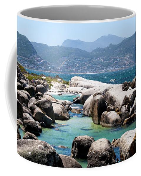 Boulders Coffee Mug featuring the photograph Boulders Beach by Fabrizio Troiani