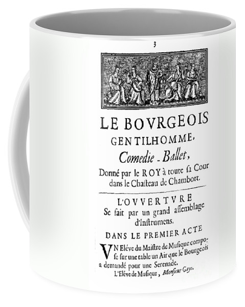 1670 Coffee Mug featuring the photograph Bourgeois Gentilhomme by Granger