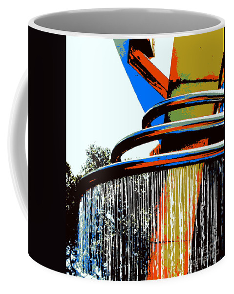 Fountain Coffee Mug featuring the photograph Boyd Plaza Fountain by Samantha Glaze