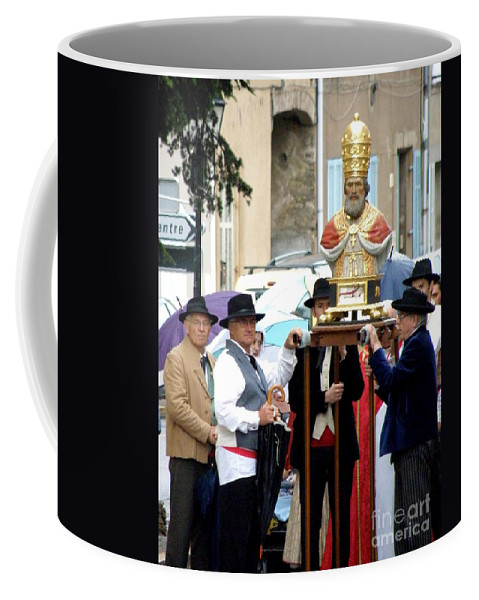 Festival Coffee Mug featuring the photograph Bravades De Saint Clement by Lainie Wrightson