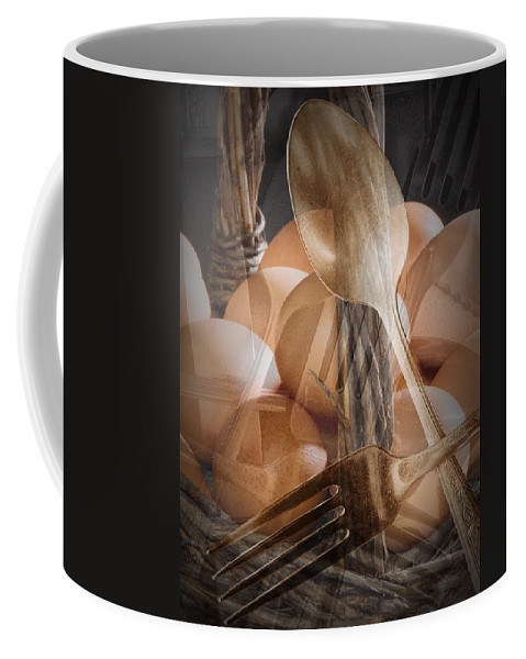 Art Coffee Mug featuring the photograph Breakfast Dream by Randall Nyhof