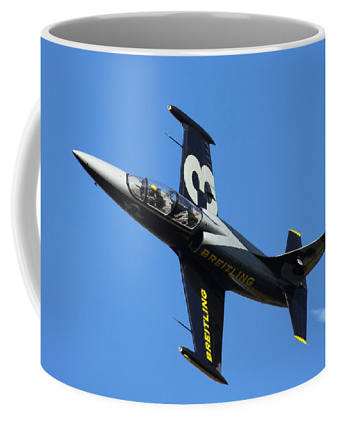 Breitling Coffee Mug featuring the photograph Breitling 3 by Ken Brannen