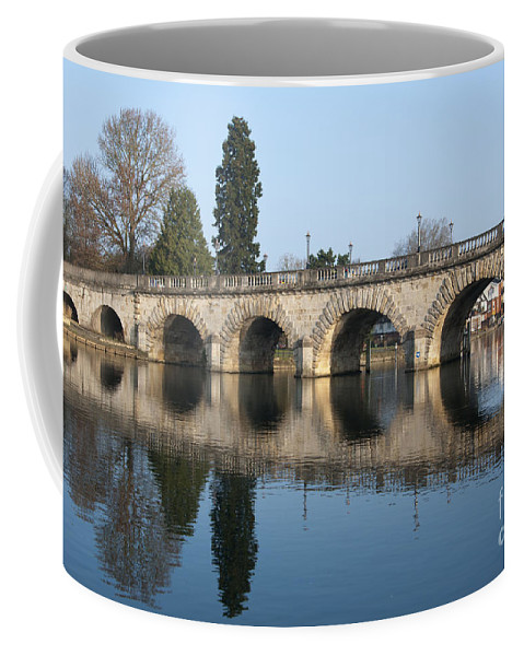 2011 Coffee Mug featuring the photograph Bridge Over The River Thames by Andrew Michael