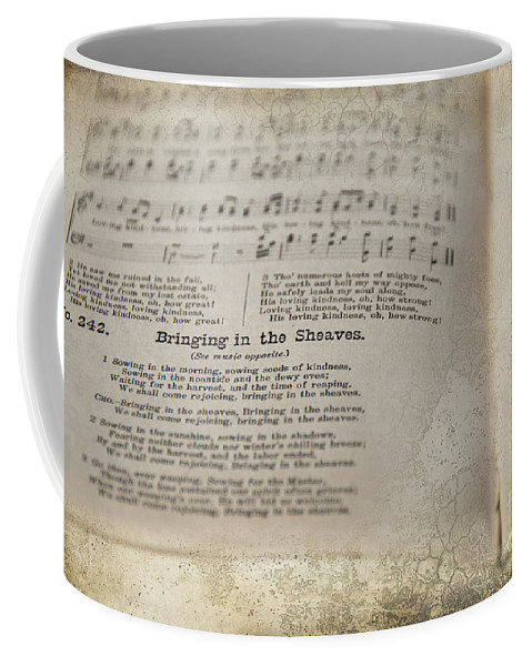 Hymn Coffee Mug featuring the photograph Bringing In The Sheaves by David Arment