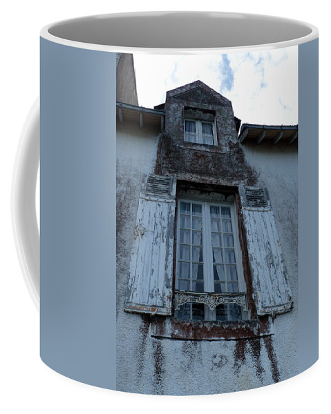 Window Coffee Mug featuring the photograph Brittany Window by Carla Parris