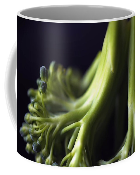 Broccoli Coffee Mug featuring the photograph Broccoli by Jenny Hudson