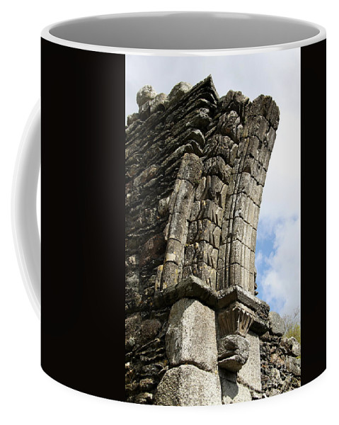 Cloister Coffee Mug featuring the photograph Broken Arch by Christiane Schulze Art And Photography