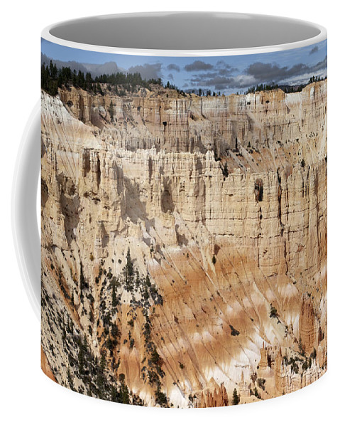 Sandra Bronstein Coffee Mug featuring the photograph Bryce Canyon Vista by Sandra Bronstein