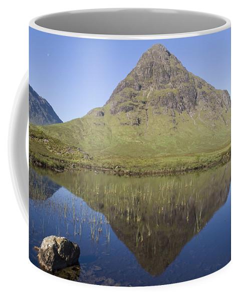 Buachaille Etive Beag Coffee Mug featuring the photograph Buachaille Etive Beag by Howard Kennedy