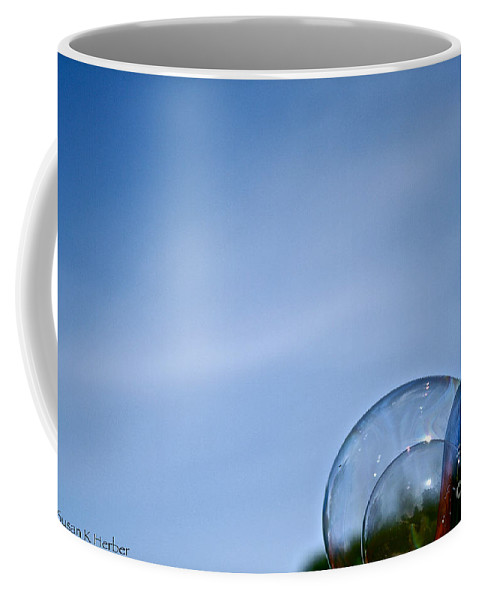 Bubbles Coffee Mug featuring the photograph Bubble Building by Susan Herber