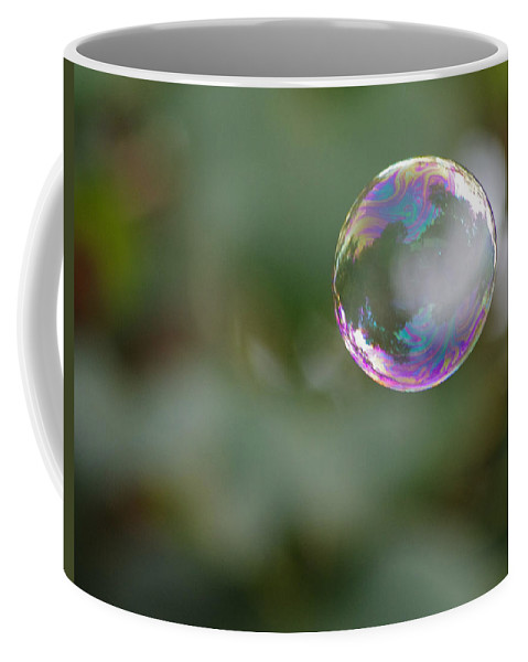 Bubble Coffee Mug featuring the photograph Bubbles by Jenny Gandert
