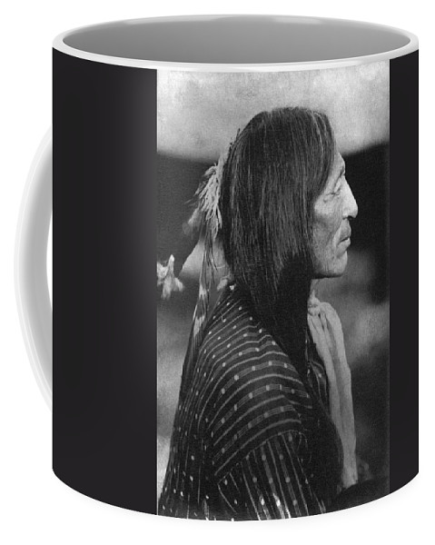 1890's Coffee Mug featuring the photograph Buffalo Nickel Portait. by Underwood Archives