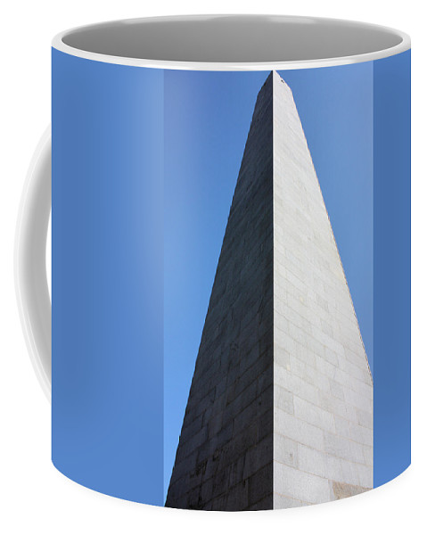 Bunker Hill Coffee Mug featuring the photograph Bunker Hill Monument by Kristin Elmquist