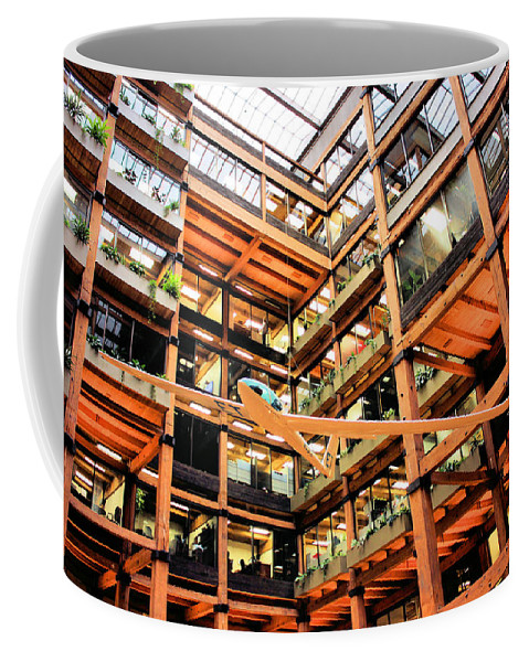 Architecture Coffee Mug featuring the photograph Butler Square by Kristin Elmquist