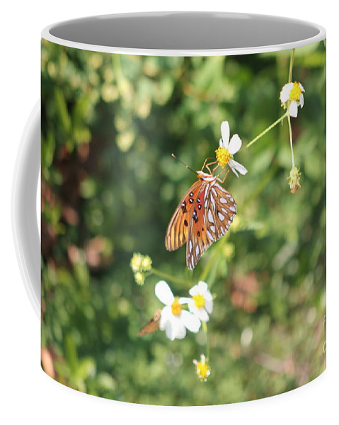 Butterfly Coffee Mug featuring the photograph Butterfly 46 by Michelle Powell