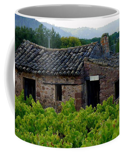 Cabanon Coffee Mug featuring the photograph Cabanon by Lainie Wrightson