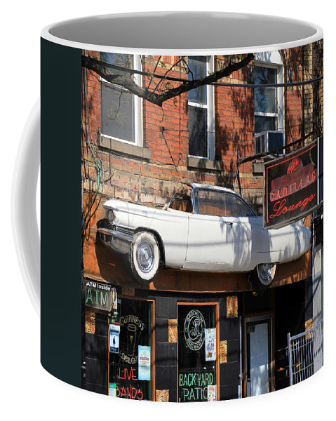 Toronto Coffee Mug featuring the photograph Cadillac Lounge by Andrew Fare