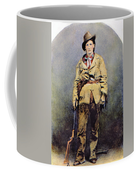 1895 Coffee Mug featuring the photograph Calamity Jane (c1852-1903) by Granger