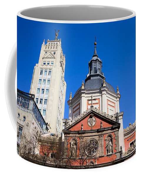 Architecture Coffee Mug featuring the photograph Calatravas Church Architectural Details by Artur Bogacki