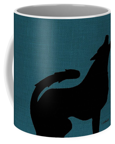 Nature Coffee Mug featuring the photograph Canine by Chris Berry