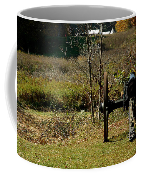 Usa Coffee Mug featuring the photograph Canon Fire Color by LeeAnn McLaneGoetz McLaneGoetzStudioLLCcom